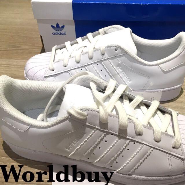 adidas Superstar 全白