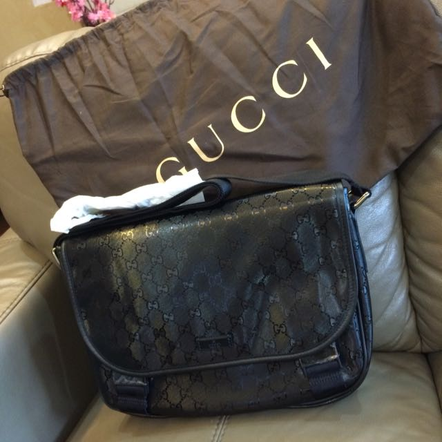 10cd819645cbd1 Authentic Gucci Men Messenger Bag Brand New, Luxury on Carousell
