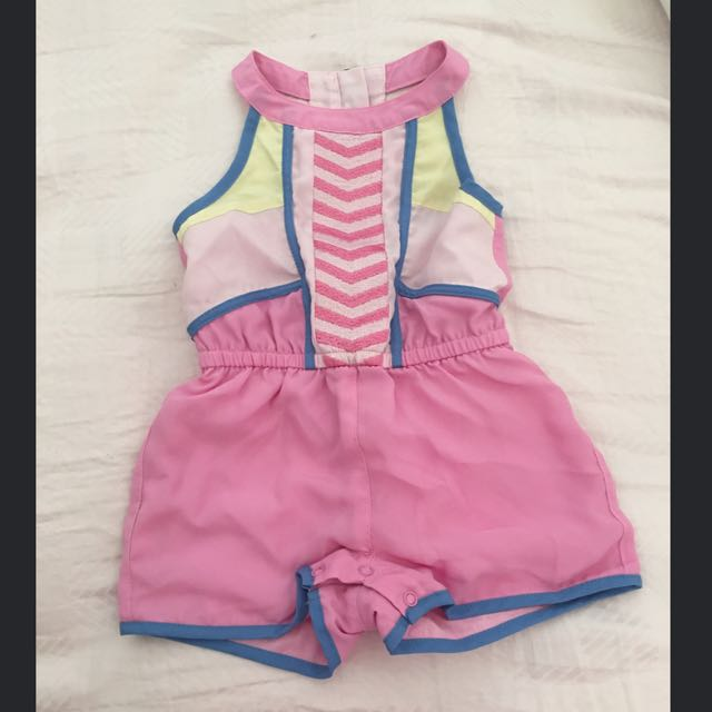 Bardot Junior Babies Playsuit Size 0