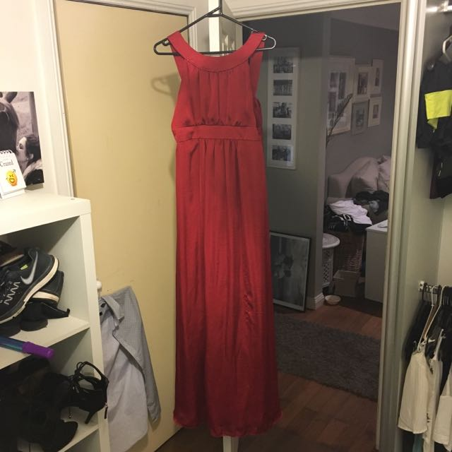 Beautiful handmade Formal Dress Size 10-12 worn once