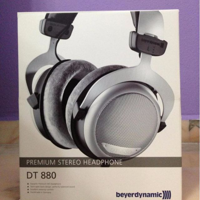 45247d6da01 Beyerdynamic Dt 880 Premium 600 Ohm Headphones - Image Headphone ...