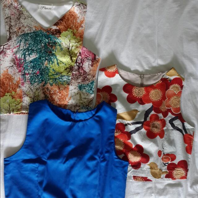 Crop Top Chlorine Clothe 3