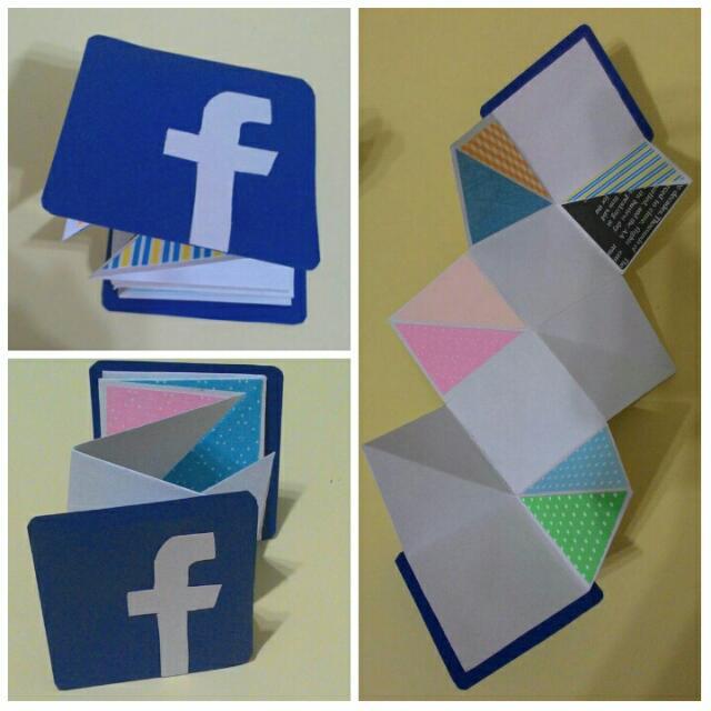 【艾咪手作】FB 造型 多層次折疊手工卡片 相片卡片 生日卡片 情人卡片 客製化卡片 七夕 情人節