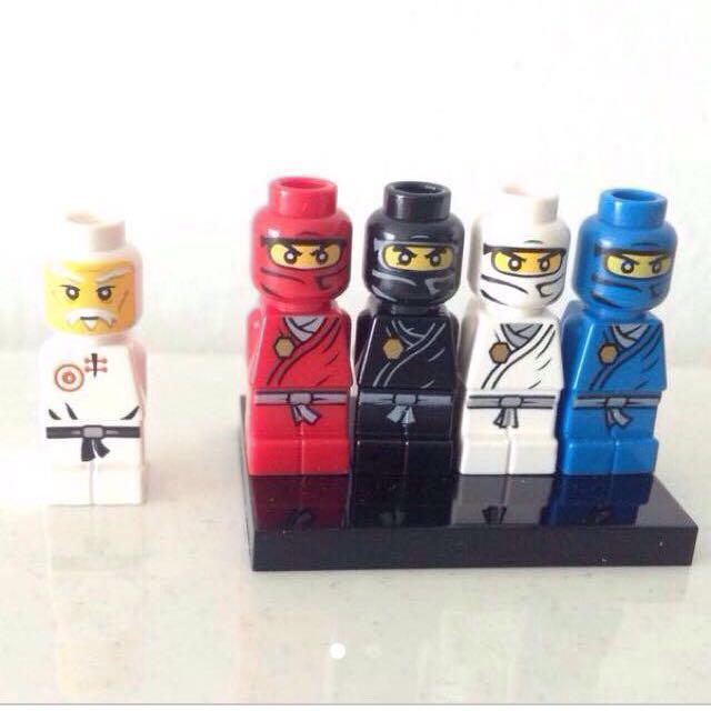lego microfigures micro figures free post
