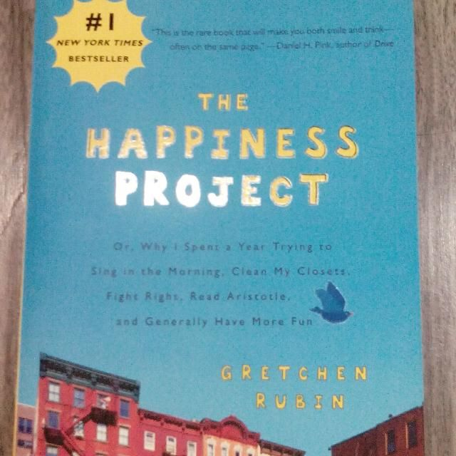 Hapiness Project - Best Seller Book