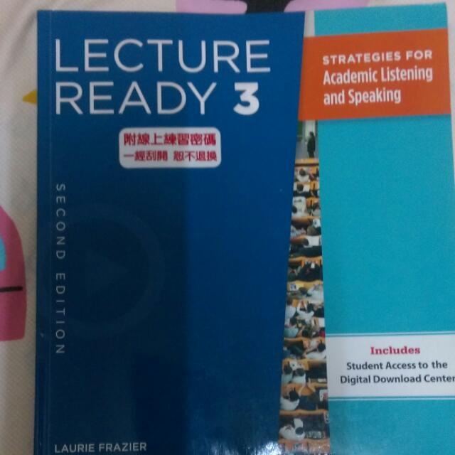 Lecture Ready 3  Second Edition 外文系