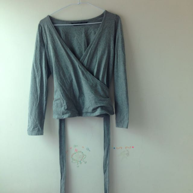 《二手》MASTINA特殊造型 棉質外套 灰