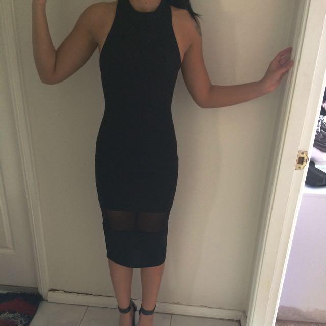 DOLLHOUSE Midi Bodycon Dress