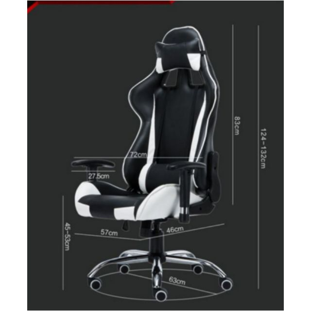 PROMO* Black and green Gaming Chair/Racer Chair