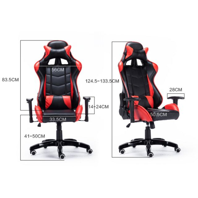 PROMO* Black and red Gaming Chair/Racer Chair