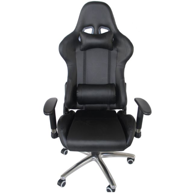 PROMO* Black Gaming Chair/Racer Chair