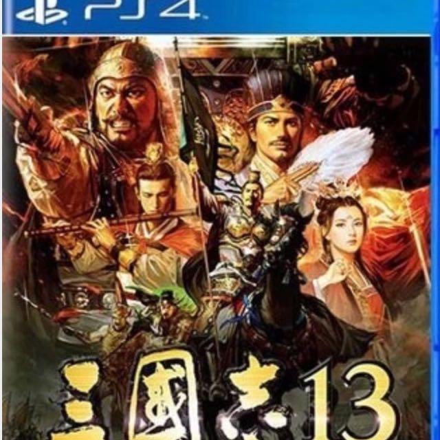 PS4 三國志13