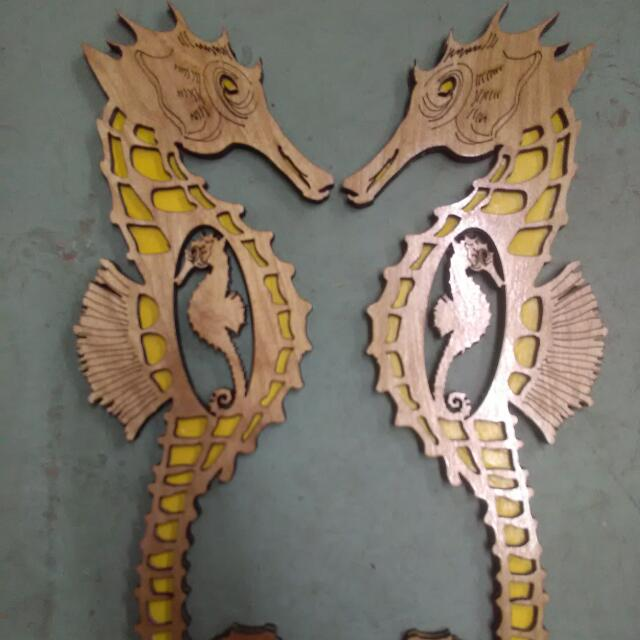 Seahorse Pair