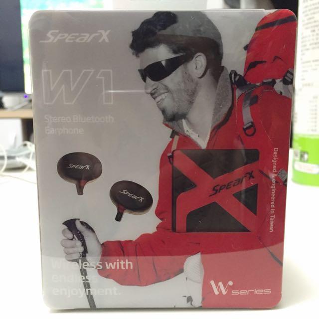 SpearX W1 防水藍芽運動耳機