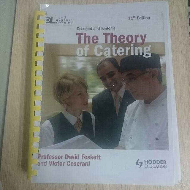 The Theory of Catering (11th Edition)