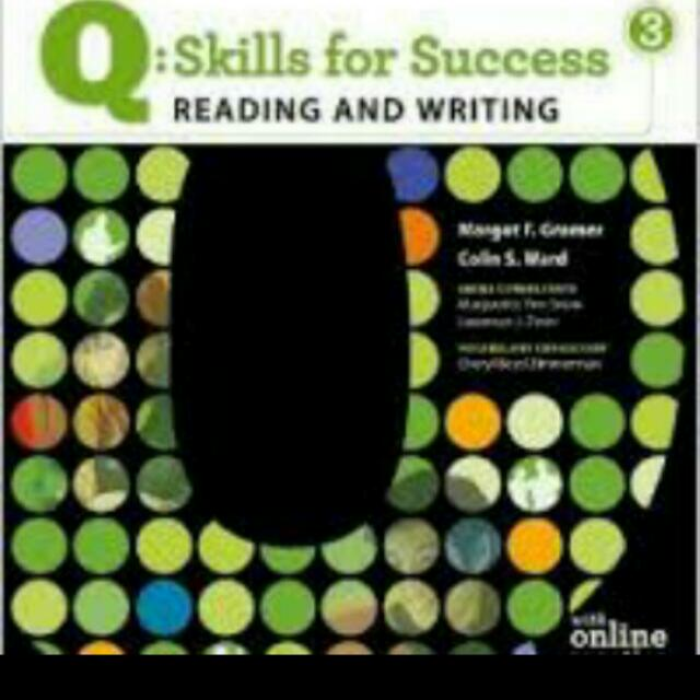 Writing Q:Skills for Success 3
