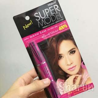 現貨 泰國Mistine正品Super Model雙頭睫毛膏