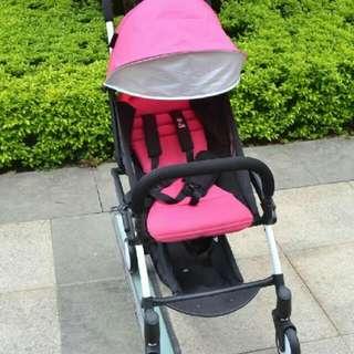 YOYO嬰兒推車扶手YOYO通用推車扶手輕鬆拆卸 超輕便折疊傘車yoyo通用扶手不需要拆下扶手即可輕鬆收車