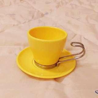 全新✿黃色可愛迷你小茶杯組✿出清