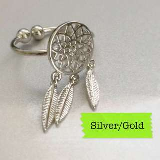 (inc Pos) Premium Dream catcher Ring
