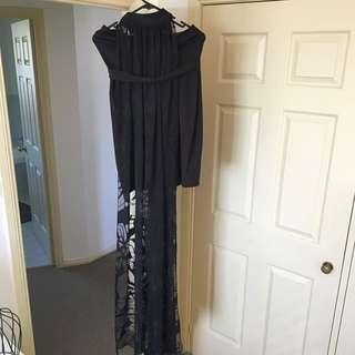 Sheike Black Dress Size 10