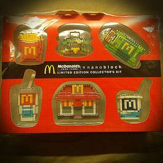 Collectible Nanoblocks From Mcdonalds