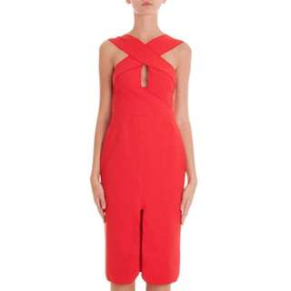 DION LEE Woven Cutaway Dress