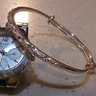 99純銀手環