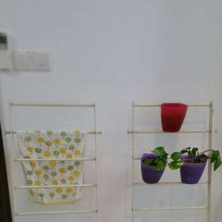 Ikea Towel Stand And Pot Holder
