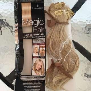 Schwarzkopf Hell Blond Clip In Hair Extensions