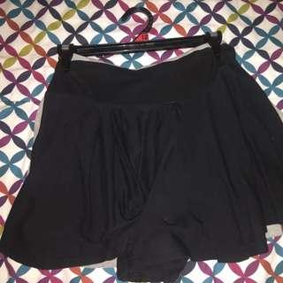 Black Skorts (shorts That Looks Like A Skirt)