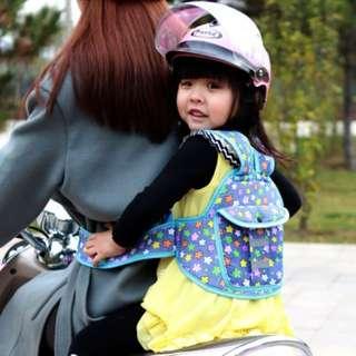 摩托車兒童安全帶摩托車載小孩寶寶保護座椅綁帶簡易背帶