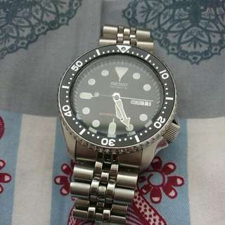 Seiko 007 Skx007 Automatic With Jobillee Strap