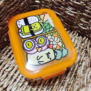 取貨付款免運費!7-11蛋黃哥耐熱玻璃密封保鮮盒