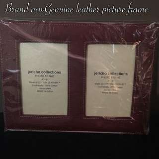 Genuine Leather Picture Frame