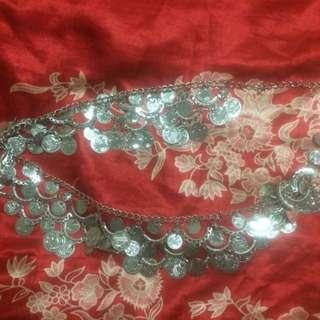 Silver Gypsy Coin Belt