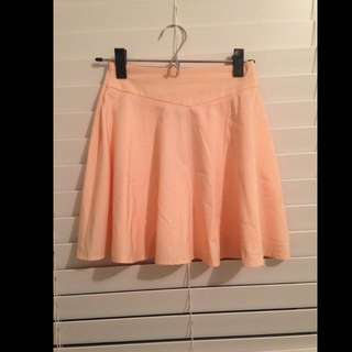 Peach Mini Skirt