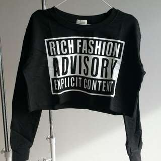 New Crop Sweatshirt - S/M