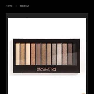 瑕疵盤 Makeup Revolution