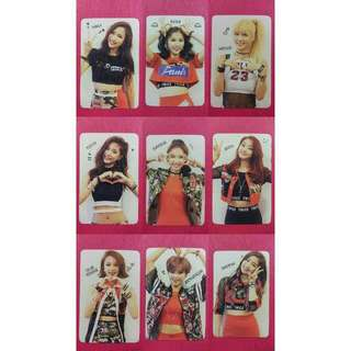TWICE The Story Begin PHOTOCARD