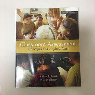 Classroom Assessment: Concept And Application