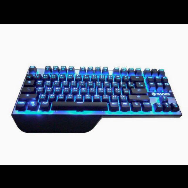 賽德斯狼爪刀青軸機械鍵盤