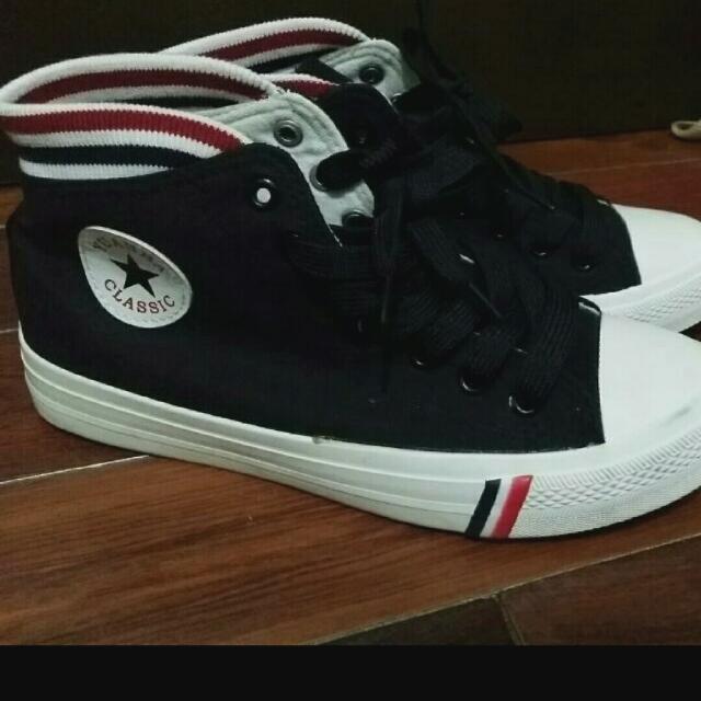 韓版 帆布鞋子