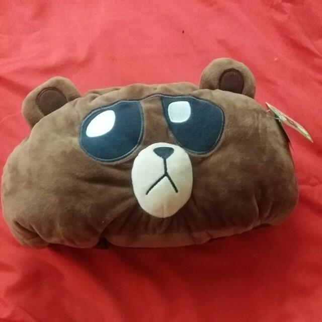 熊熊車上枕
