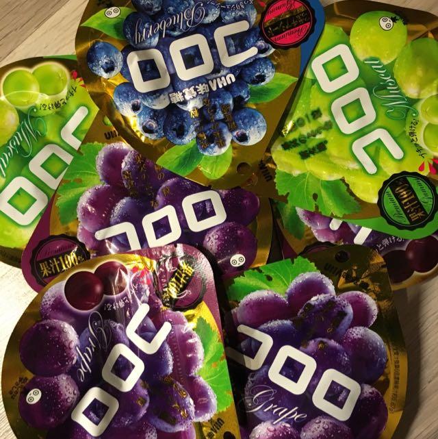 葡萄 藍莓 味覺糖 真果實軟糖