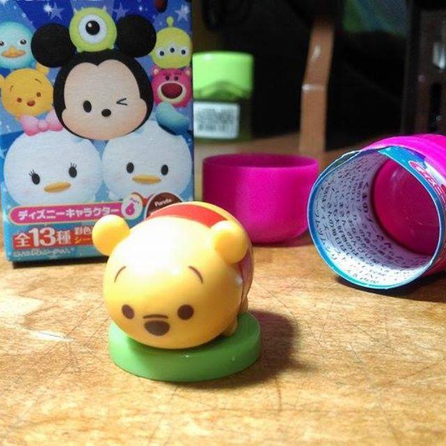 迪士尼 小熊 維尼 巧克力蛋 Tsum Tsum Furuta Disney 盒玩 公仔 扭蛋