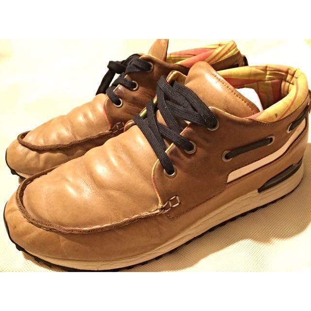 二手 絕版 Adidas 愛迪達 ZX700 真皮球鞋 US10.5-11