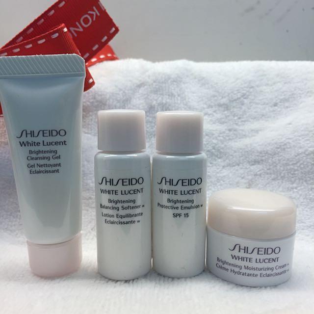 全新 資生堂 Shiseido 美透白活膚系列