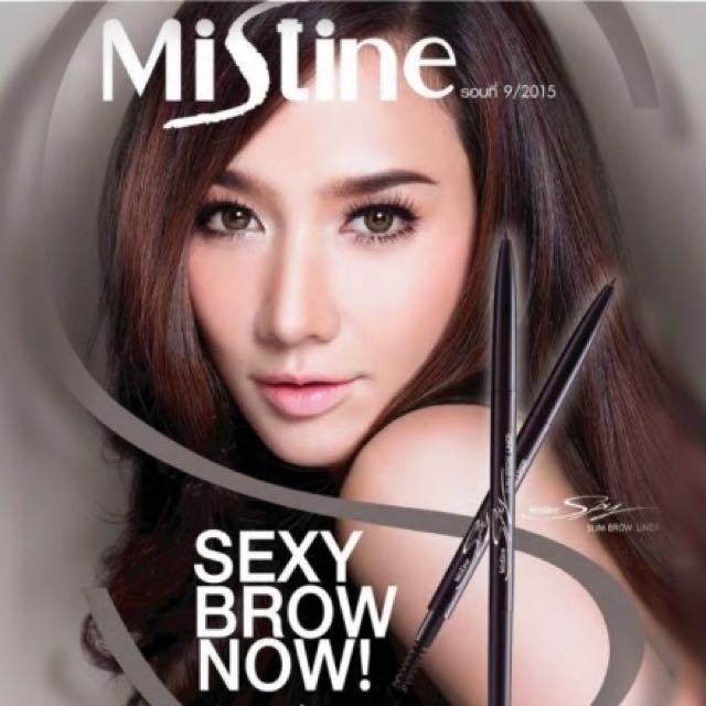 泰國 Mistine SPY特細眼眉兩用筆❣