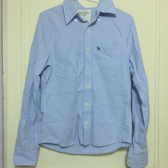 A & F 襯衫 Size : S 出清價 500